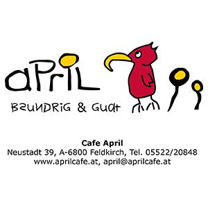 Thomas Hartmann, unabhängiger Versicherungsmakler, Feldkirch, Referenzen, Cafe April